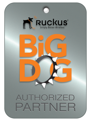 authorized ruckus wireless partner - big dog